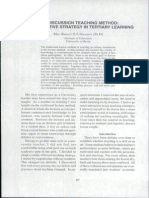 The Discussion Teaching Methods_An Interactive Strategy in Tertiary Learning