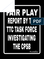 TTC TASKFORCE REPORT