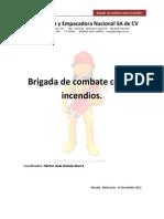 Anteproyecto Brigada Combate de Incendios 2012-2013