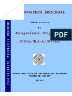 PG Information Brochure