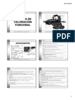Escalas de Valoración Funcional