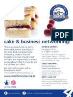 Coffe Lounge Networking Flyer