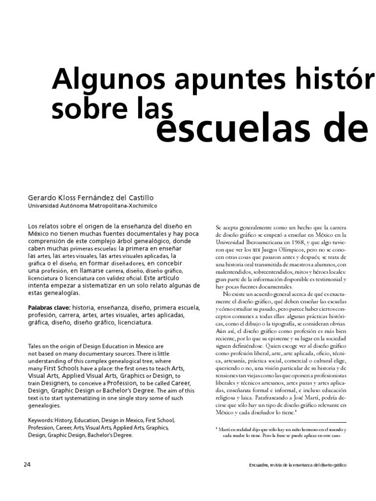historia del diseño-kloss