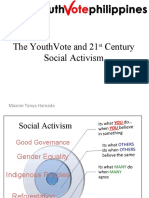 YouthVote - Social Activism and the 21st Century- Tanya Hamada
