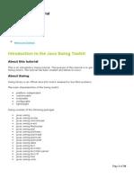 The Java Swing Tutorial