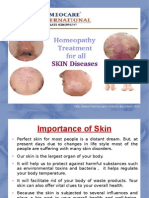 Homeopathy assistance for Skin Disorders