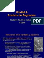 Unidad 4 Regresion Simple