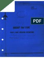 MiG-21Bis Pilots Flight Operating Instruction