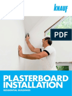 KNAUF Plasterboard Installation Guide - April 2013