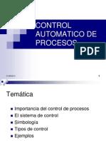 Control Automatico de Procesos Clase 1 - Copia