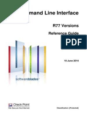 CP R77 CLI ReferenceGuide   Command Line Interface   Port