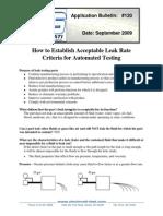 AB120 Setting Acceptable Test Criteria