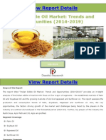 Indian Edible Oil Market