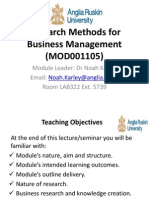 Lecture 1 Introduction Modified RM