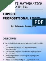01_ECE MATH 311_Propositional Logic