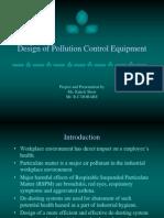 Design of Pollution Control Equipment