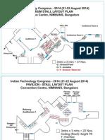 ITC MSME Exhibitor Layout