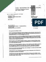 Schreiben Dr.klaus-Peter Braun - Az. S 12 VE 7;11 - Vom 03.07.2014