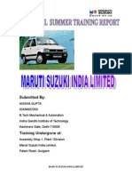 MSIL Annual report