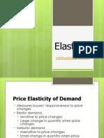 Elasticity Economics Part 1
