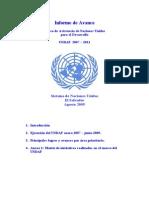 Informe de Avance Undaf 2009