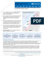 Hostilities in Gaza, UN Situation Report as of 31 July 2014