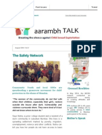 The Safety Network (aarambh Talk, August)
