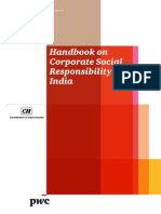 Handbook on Corporate Social Responsibility in India