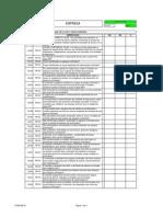 140368953 Checklist NR 18 e NR 33 Espaco Confinado