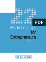 22 Marketing Tips for Entrepren - Peter Desmyttere