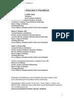 Clinical Educators Handbook
