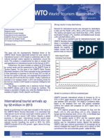 UNWTO World Tourism Barometer and Statistical Annex (January 2014)