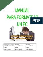 Manual Para Formatear