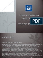 Case Study (General Motors Company)