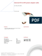 Cc Psu Atx Btx Product Sheet Cc Psu Atx Btx