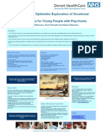 Learn 2 Earn Optimistic Exploration of Vocational Opportunities for Young People With Psychosis