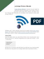 3 Sistem Keamanan Berlapis Wireless Mikrotik