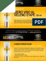 "Siero viso al VELENO D'APE ""Wonder Bee"" LR WONDER su www.goldnoir.it"