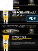 "Crema SUPER ABBRONZANTE ALLA BIRRA ""Beer Cream"" LR WONDER su www.goldnoir.it"