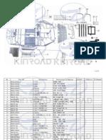 XT1100-2A-EEC-STANDARD EINZELTEILE KUNSTOFF ORANGE