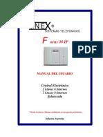 Manual Unex Focus 38