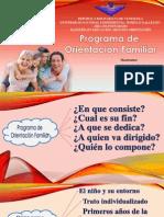 Programa de Orientación Familiar
