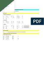 Screenshots Spreadsheet A1