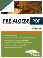 Pre Algebra Preview