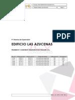 4º Informe - Azucenas