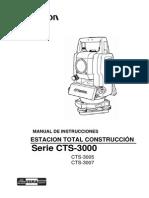 Manual CTS3007