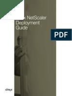 Citrix Netscaler Deployment Guide