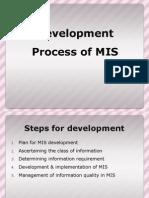 Development Process of MIS (2)