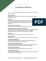 Glosario de Investigacion de Mercados