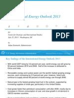 EIA International Energy Outlook 2013